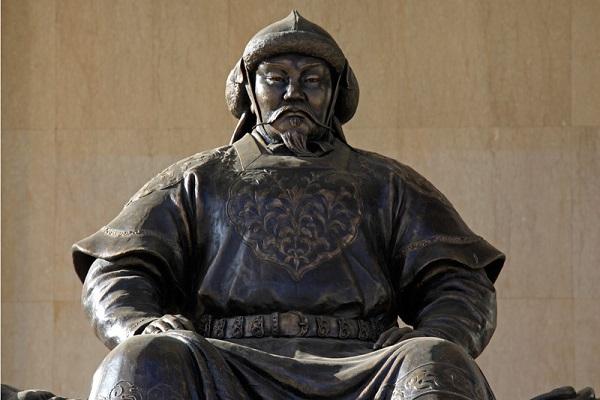 l'Empire mongol de Gengis Khan, «Souverain Universel»