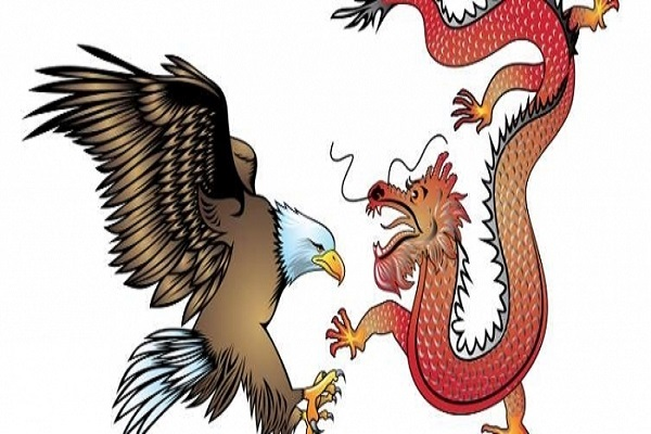 L'Europe entre l'Aigle américain et le Dragon chinois