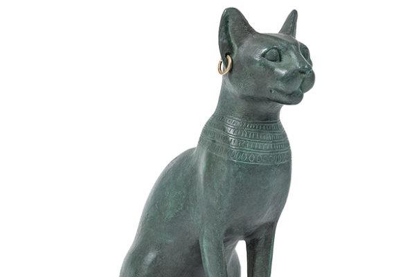 Le chat dans la peinture et la sculpture, de l'Egypte ancienne à nos jours