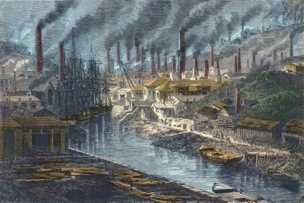 La révolution industrielle en Grande-Bretagne de 1700 à 1900